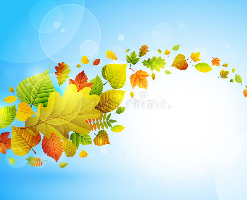 Herbsthintergrund vektor abbildung