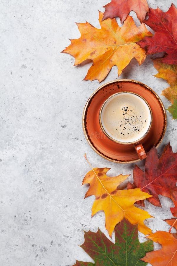 Herbsthintergrund mit bunten Bl?ttern stockbilder