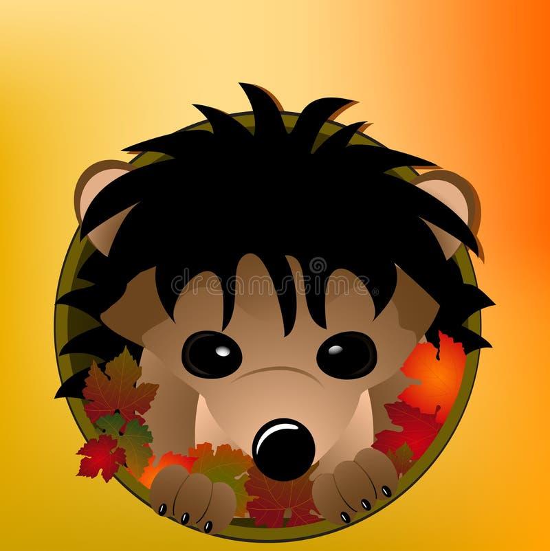 Herbstigeles lizenzfreie abbildung