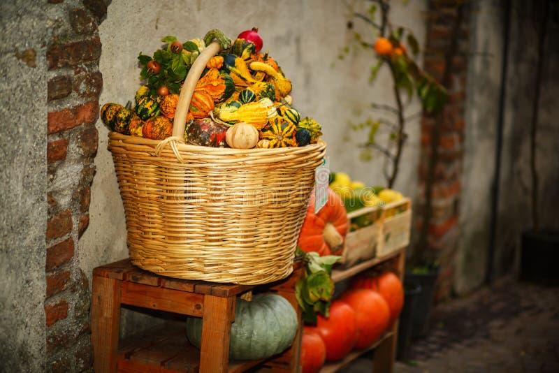 Herbstkürbisfestival stockfoto