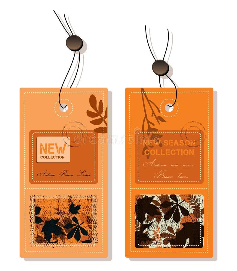 Herbstkennsätze lizenzfreie abbildung