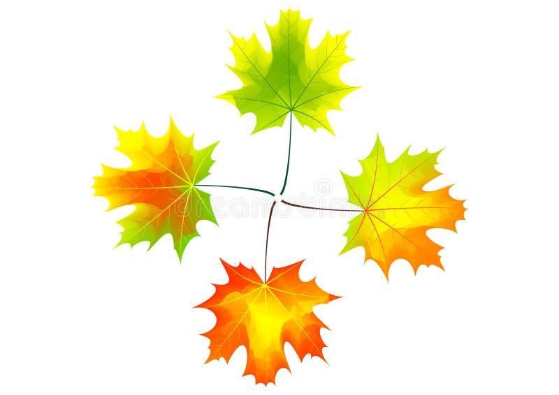 Herbstkreuz stock abbildung
