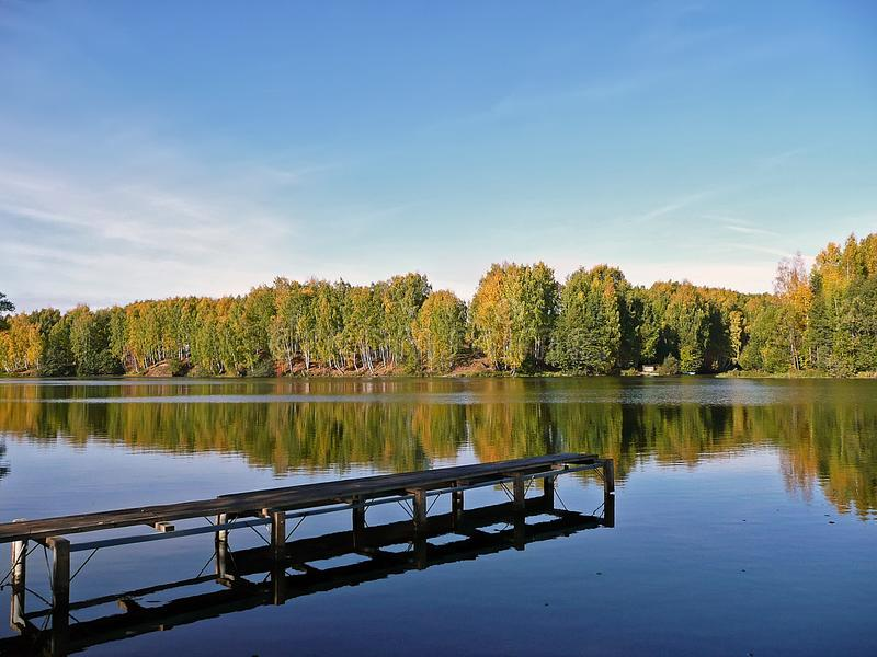Herbstlandschaft lizenzfreie stockbilder