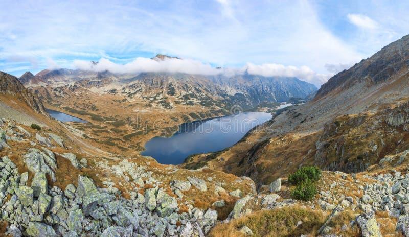 Herbstlandschaft von Tatras-Bergen lizenzfreie stockfotografie