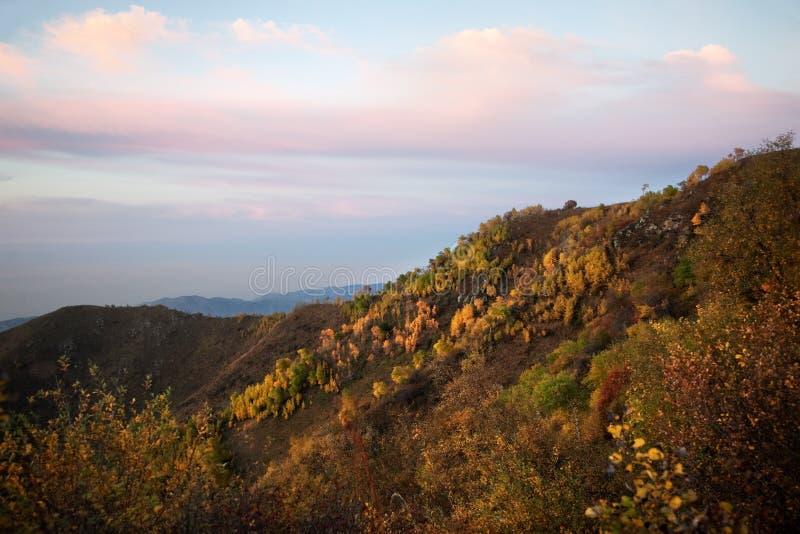Herbstliche Landschaft lizenzfreie stockfotografie