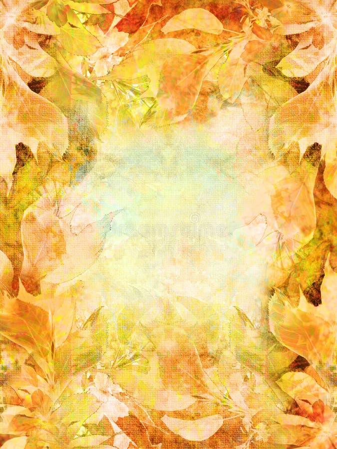 Herbstlicher Hintergrund stockfotos