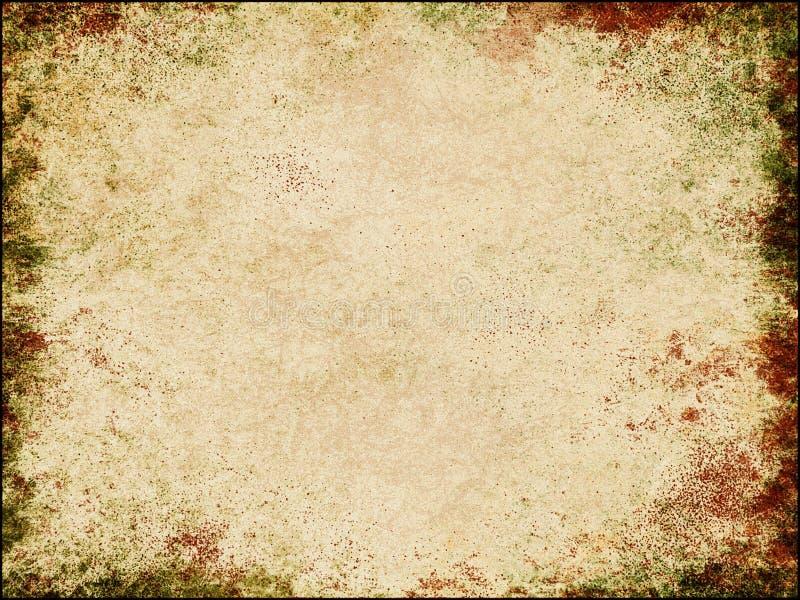 Herbstlicher Papierhintergrund lizenzfreie abbildung