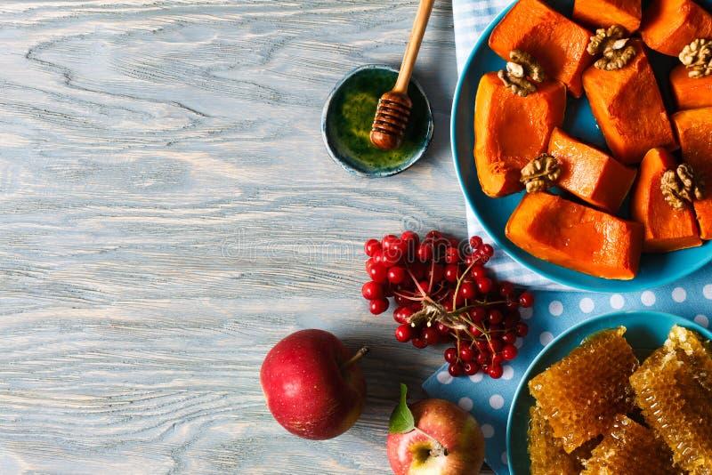 Herbstmenü noch ife lizenzfreie stockbilder