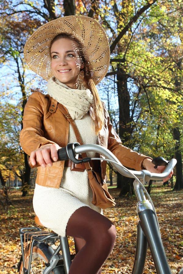 Herbstporträt stockbild