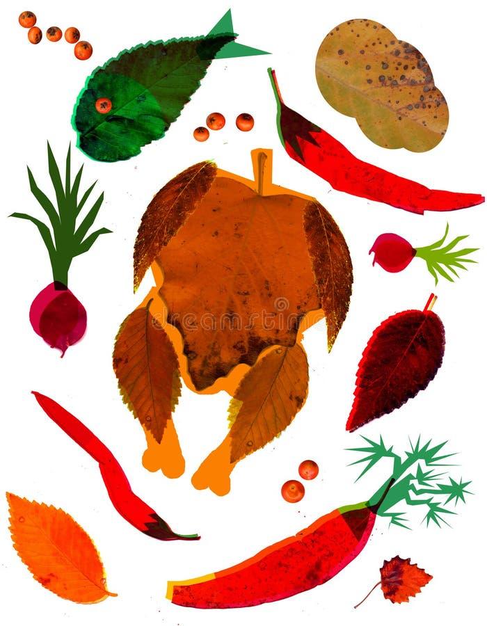 Herbstrezepte stockfotos