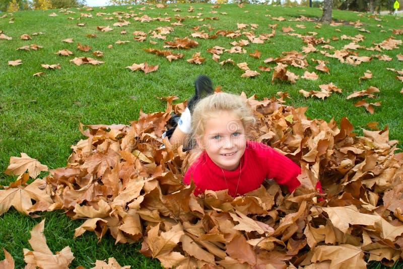 Herbstspaß lizenzfreies stockfoto