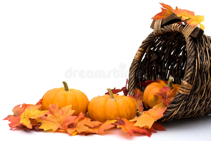 Herbstszene stockfoto