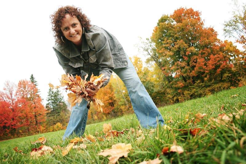 Herbsttag stockfotografie