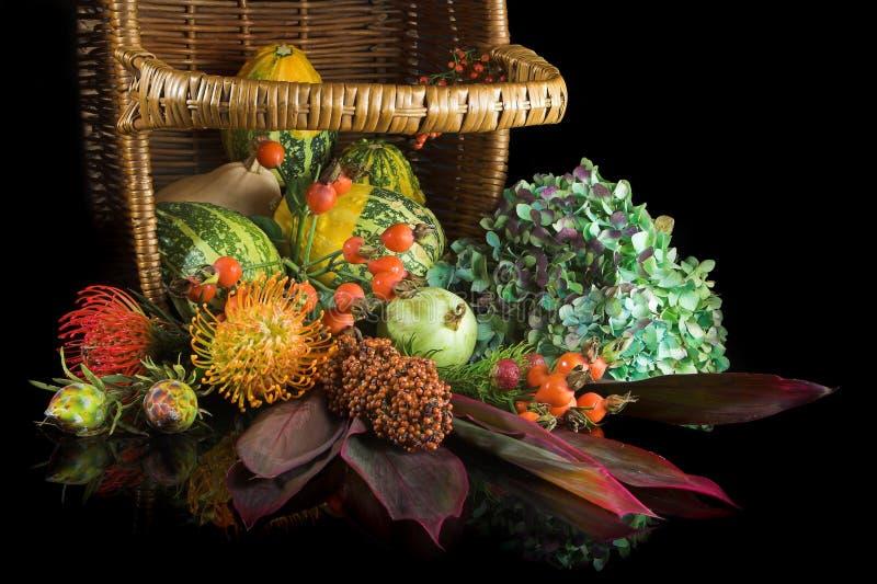Herbstviel stockfotografie
