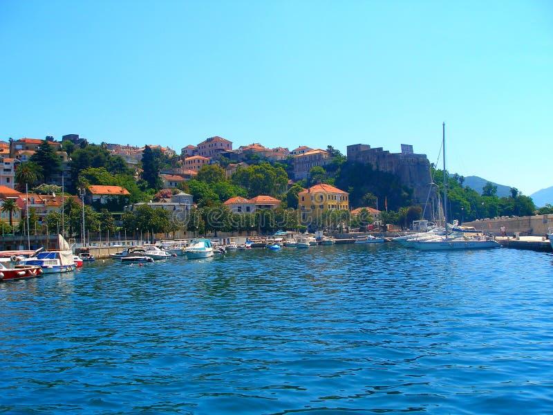 Herceg Novi στοκ εικόνα με δικαίωμα ελεύθερης χρήσης
