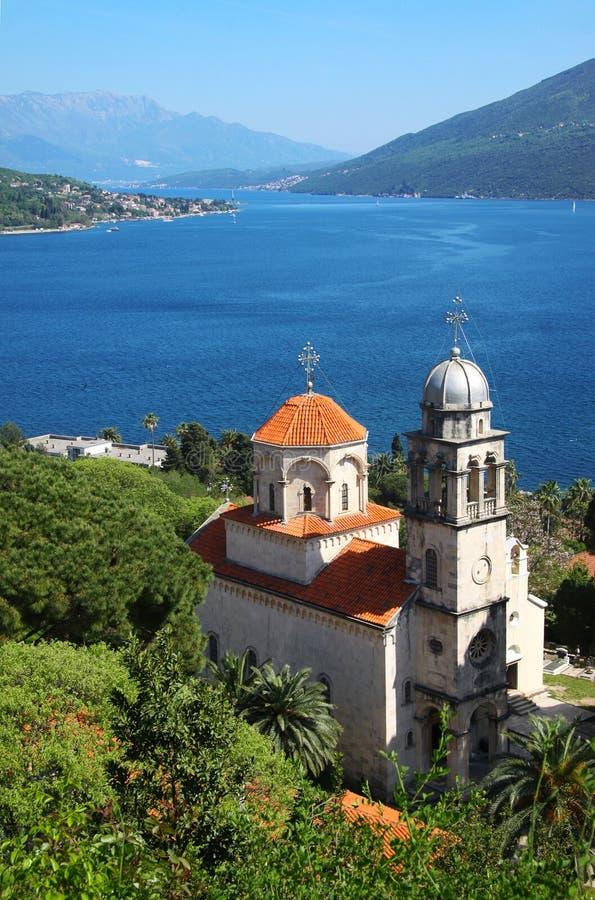 Herceg Novi, Monténégro. image libre de droits