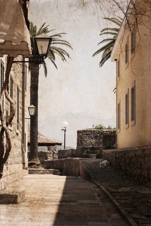 Herceg Novi, Montenegro stockbild