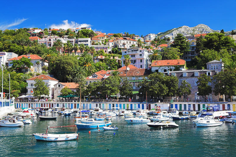 Herceg Novi, Montenegro immagine stock