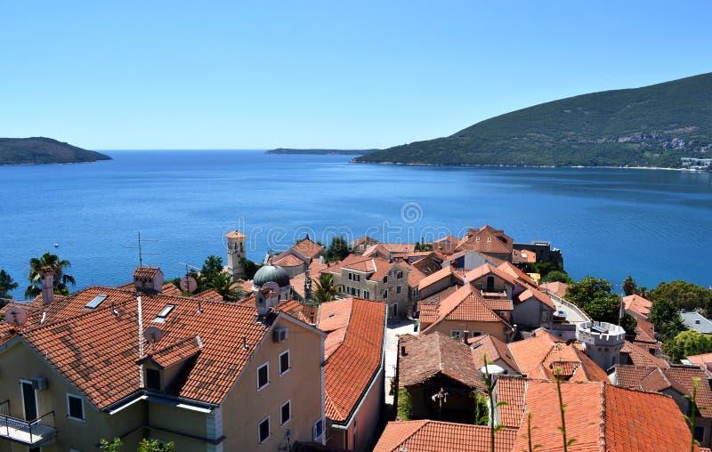 Herceg Novi, Montenegro. imagem de stock royalty free