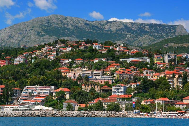 Herceg Novi, Montenegro fotografie stock