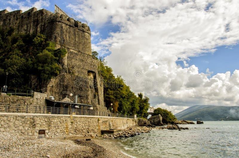 Herceg Novi, Montenegro. Old fortress in Herceg Novi, Montenegro stock photo