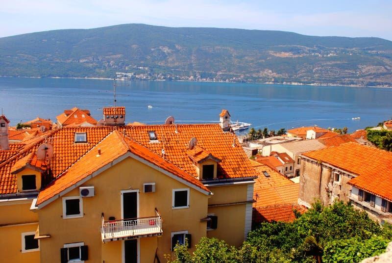 Herceg Novi, Montenegro. fotografia stock