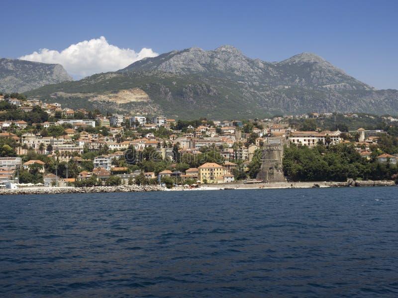 Herceg Novi, Montenegro imagen de archivo