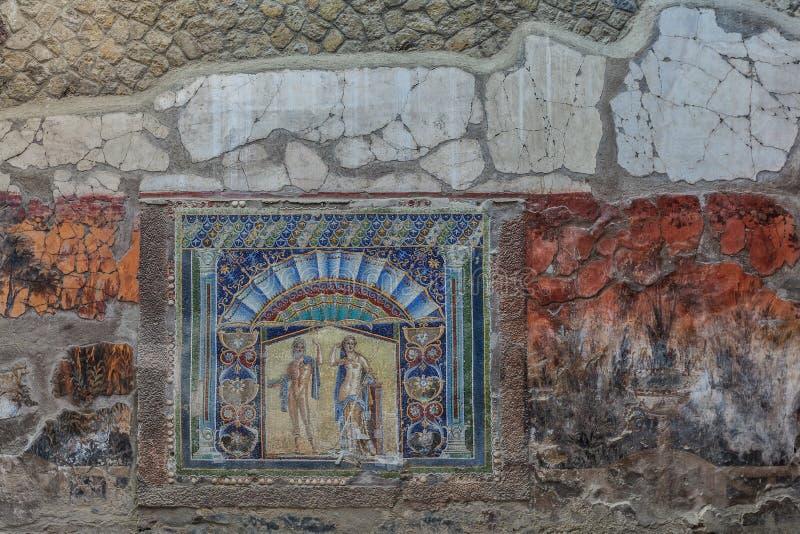 Herculaneum fotografering för bildbyråer