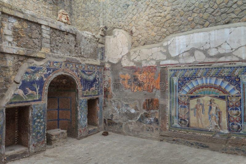 Herculaneum royalty-vrije stock fotografie
