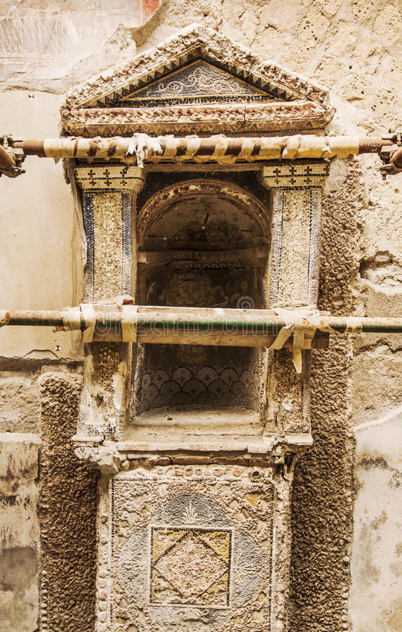 herculaneum fotografia stock libera da diritti