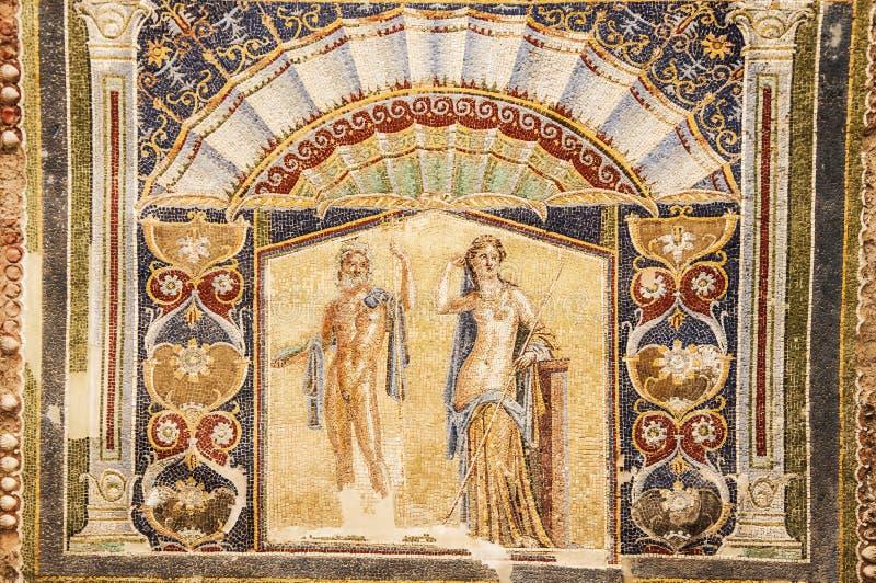 herculaneum fotografie stock libere da diritti