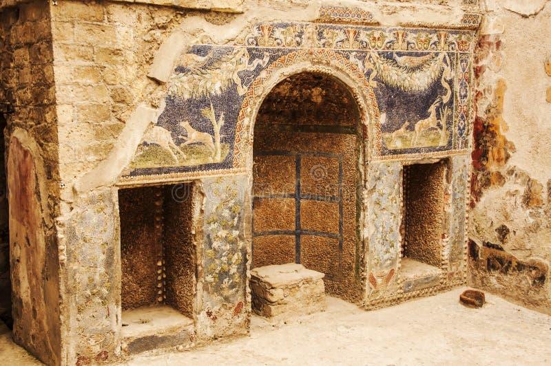 herculaneum immagine stock libera da diritti
