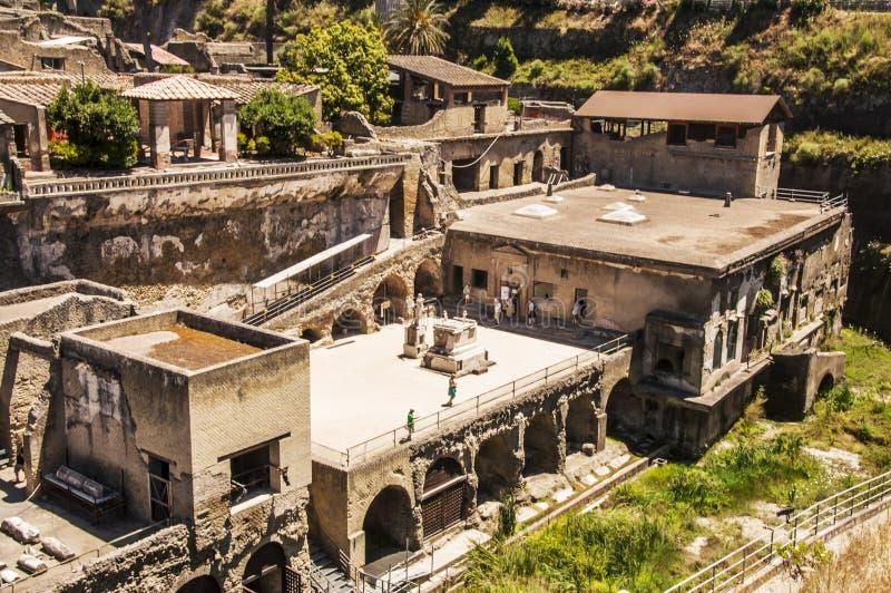 herculaneum imagem de stock royalty free