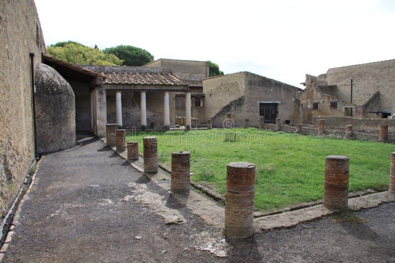 herculaneum image stock