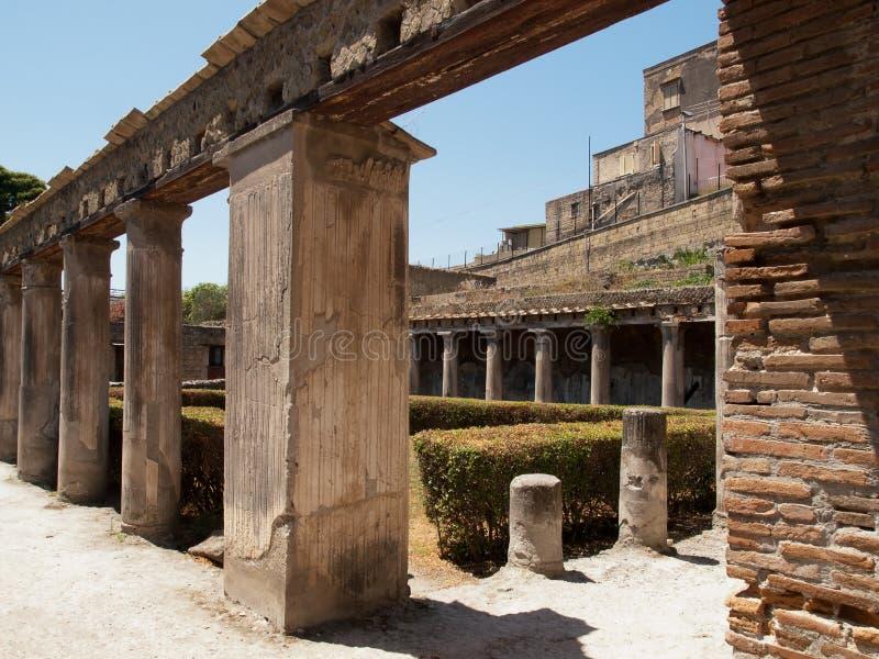 Herculaneum-Italië stock foto's