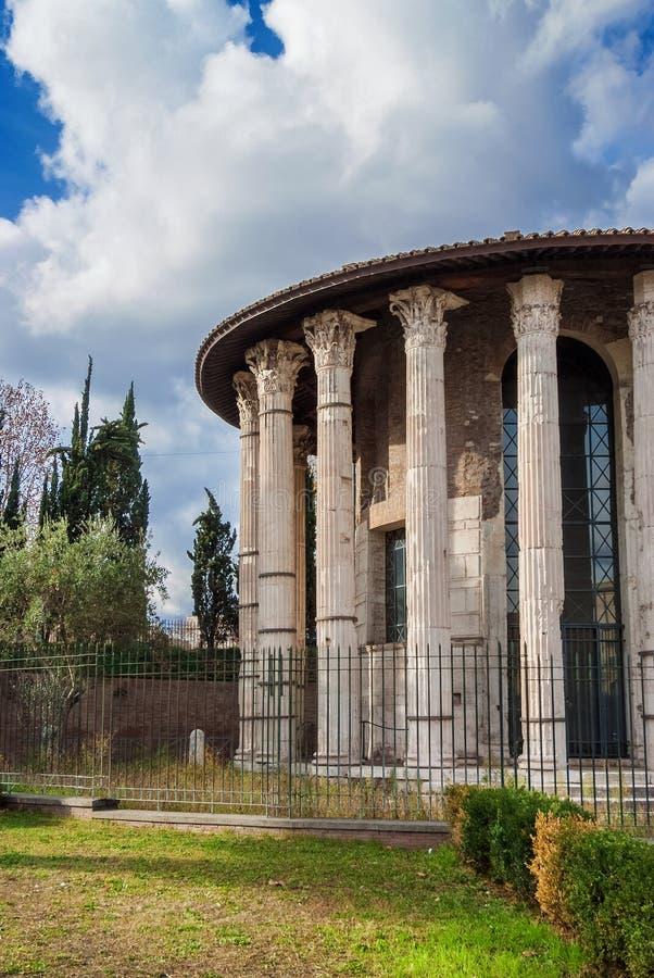hercules świątyni zwycięzca obrazy stock