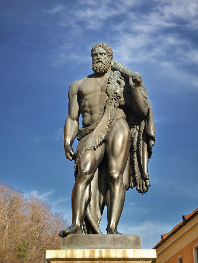 Hercules foto de stock royalty free