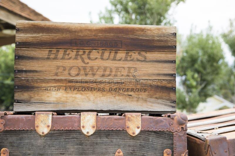 Hercules Box royalty-vrije stock foto's