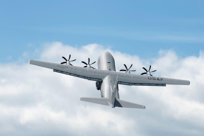 Hercules c-130J stock foto
