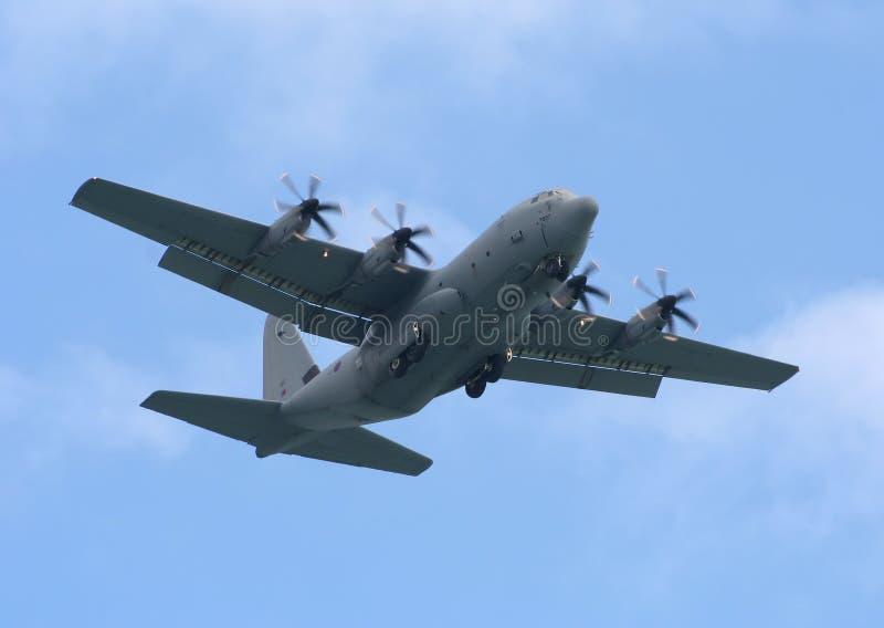 Hercules c 130j royalty free stock image