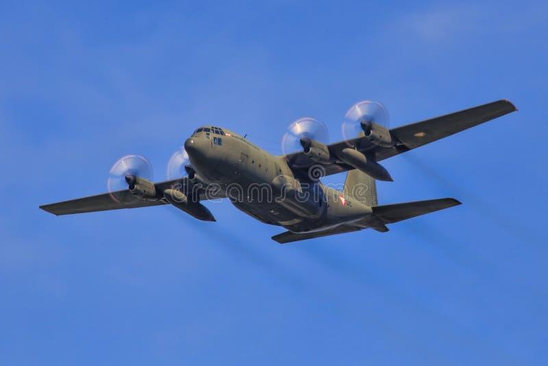 Hercules C130 royalty free stock image