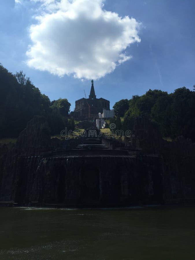 Hercules Castel, Cassel Niemcy zdjęcie stock