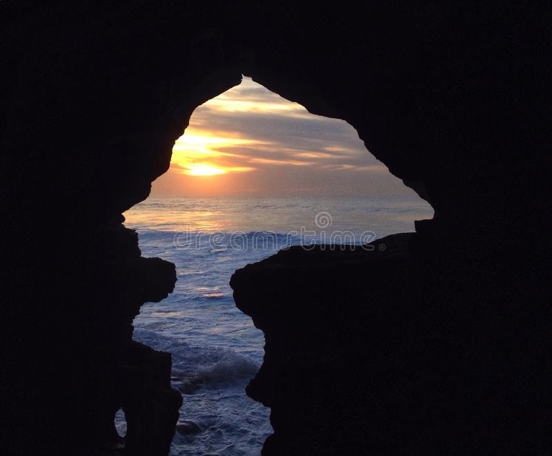 Hercules Caves royalty free stock image