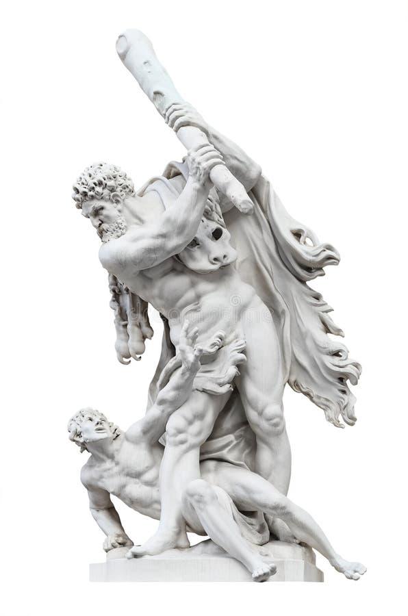 Hercules contra Busiris imagem de stock