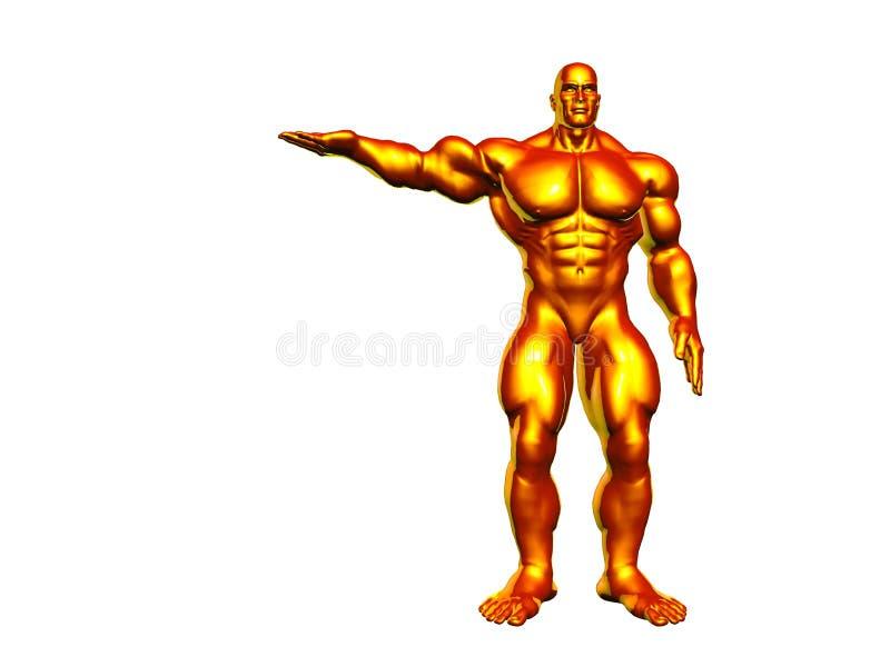 Hercules Metaal royalty-vrije illustratie