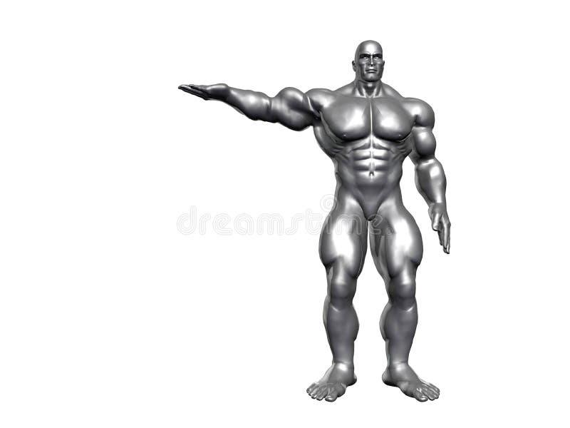 Hercules Metaal vector illustratie