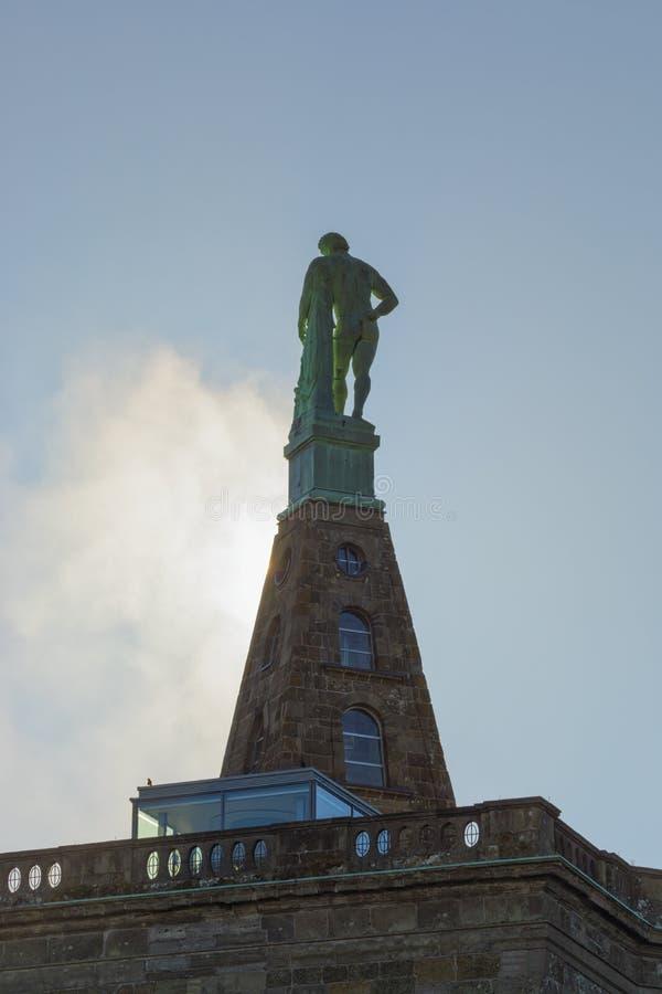 Hercules-monument in Kassel, Duitsland royalty-vrije stock fotografie
