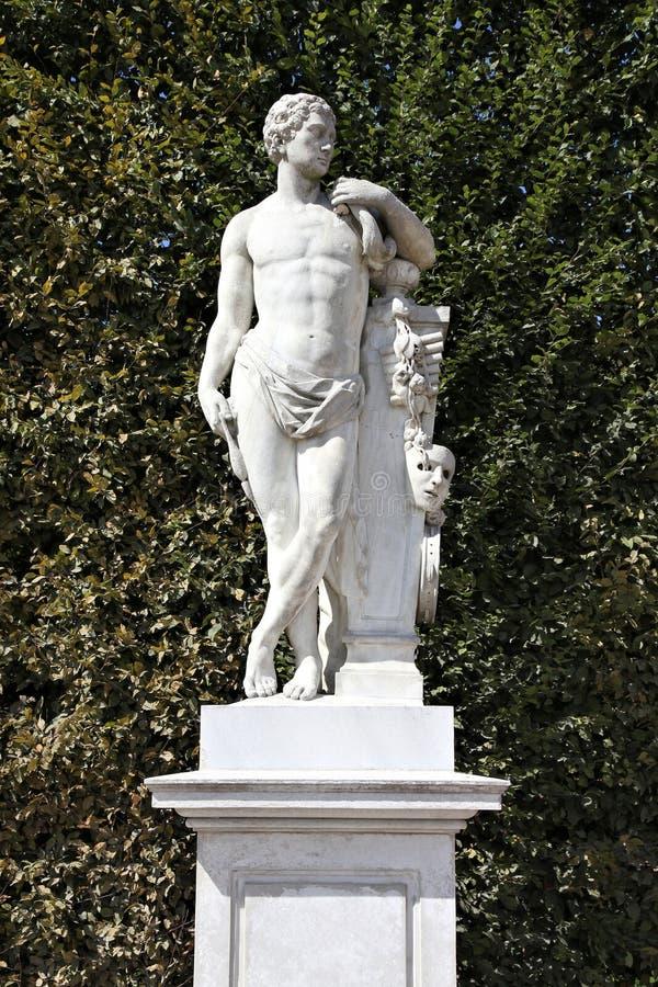 Hercules-standbeeld stock foto's