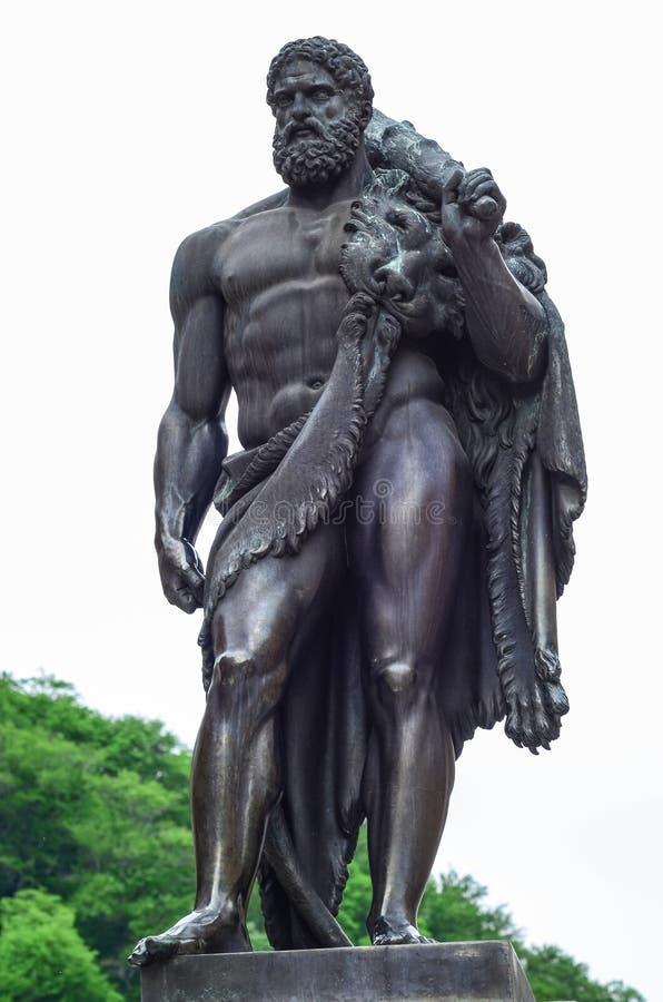 Hercules Statue royalty-vrije stock afbeelding