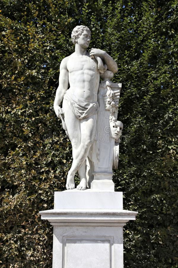 Hercules statue stock photos